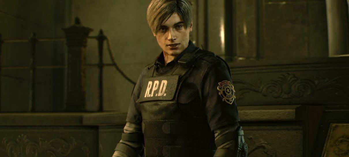 Resident Evil 2   Capcom está vendendo réplica do colete de Leon por 31 mil ienes