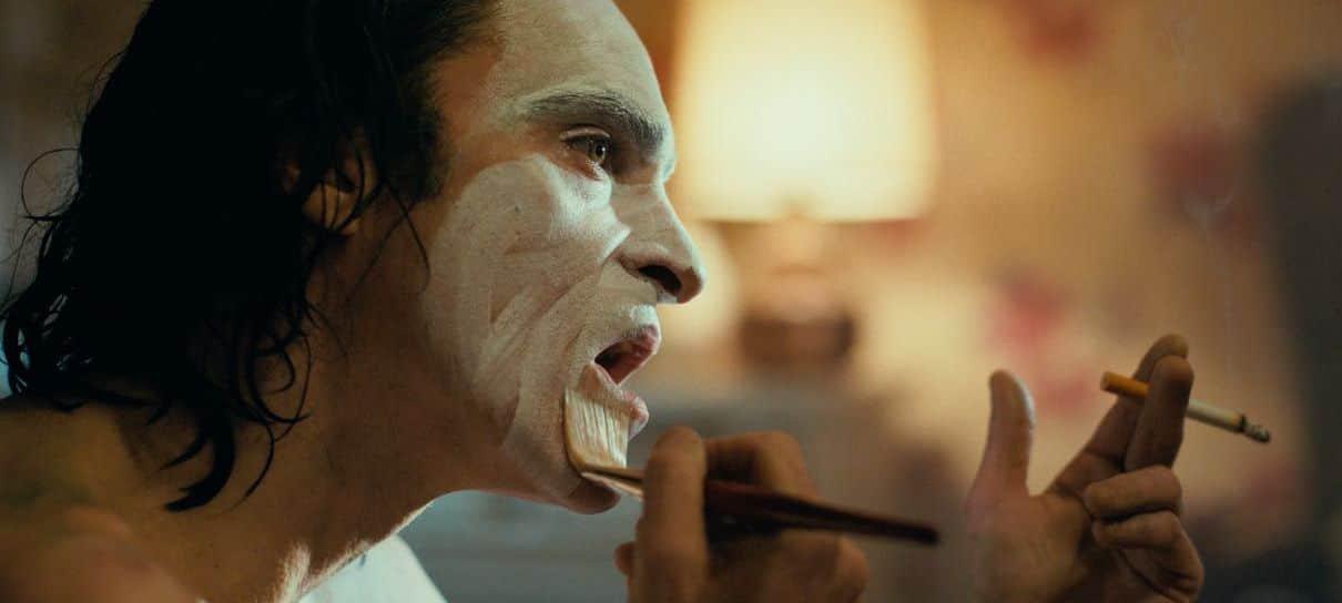 Coringa   Joaquin Phoenix saiu no meio de algumas cenas para se recompor