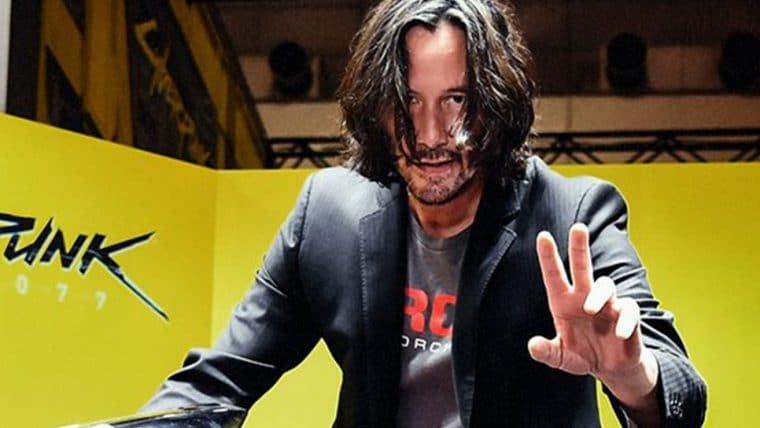 Cyberpunk 2077 | Keanu Reeves aparece com a Yaiba Kusanagi na Tokyo Game Show