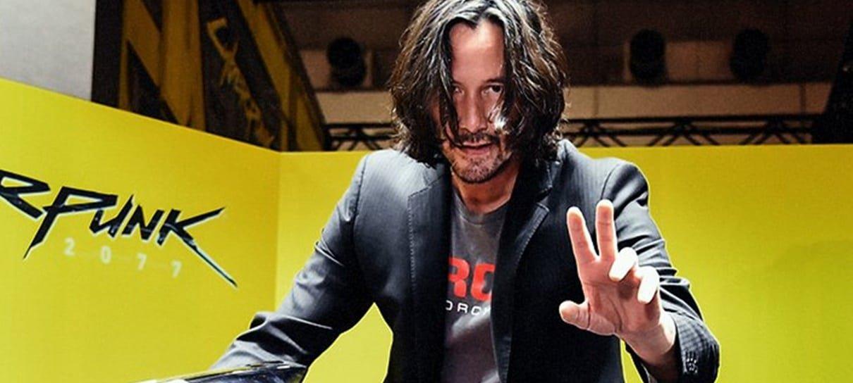 Cyberpunk 2077   Keanu Reeves aparece com a Yaiba Kusanagi na Tokyo Game Show