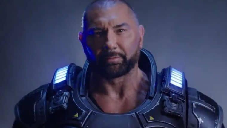 Dave Bautista será um personagem jogável em Gears 5