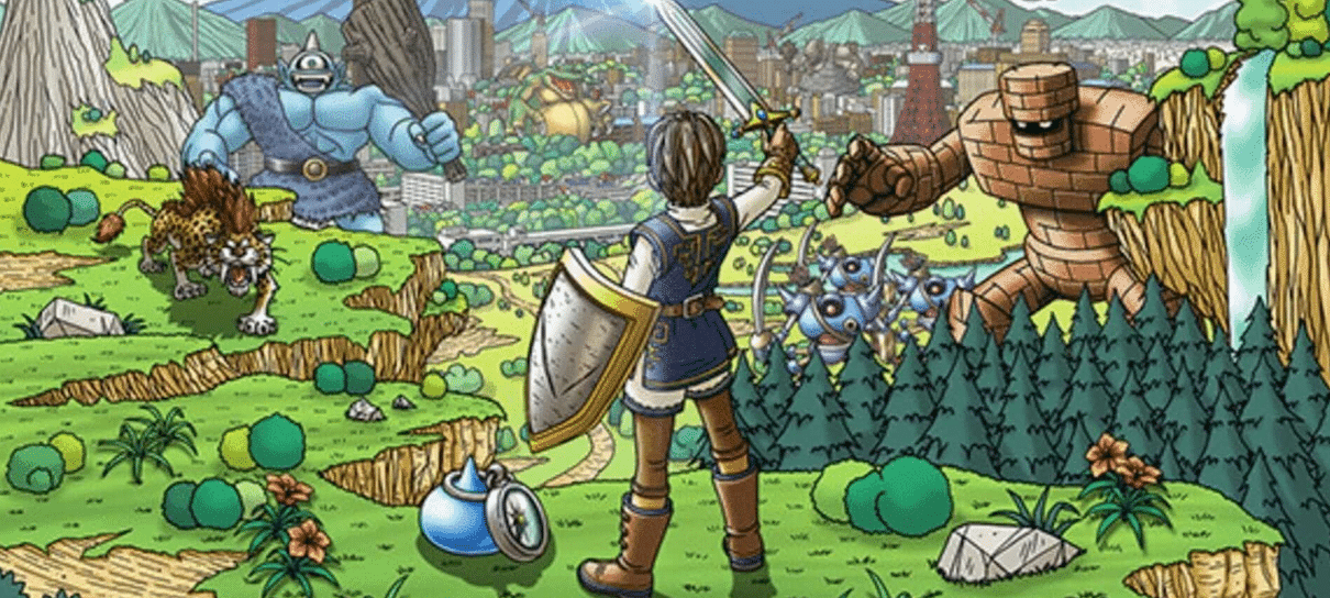 Dragon Quest Walk ultrapassa marca de 5 milhões de downloads