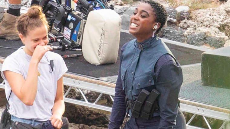 007: No Time To Die | Imagens mostram Lashana Lynch pronta para a ação