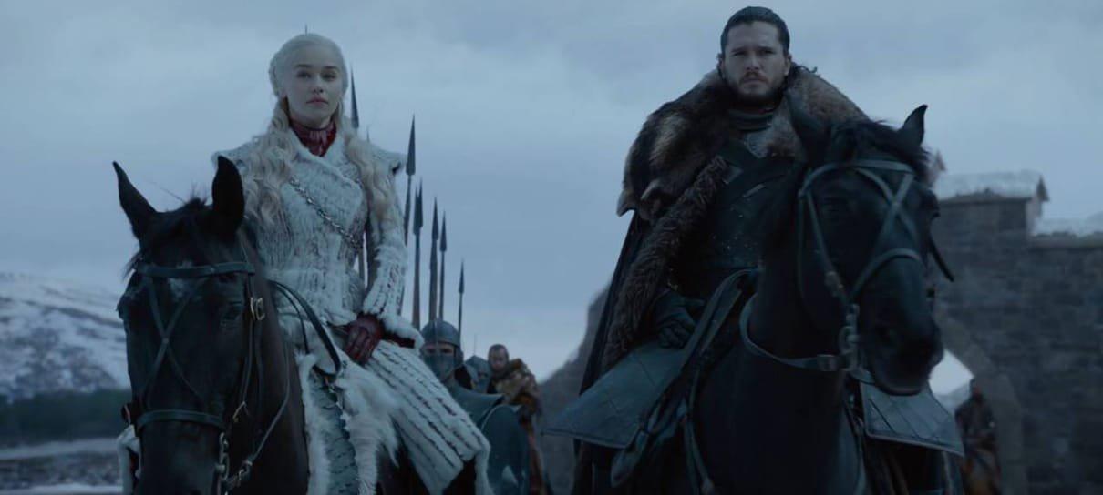 Emmy 2019 exibe spoilers da última temporada de GoT durante cerimônia