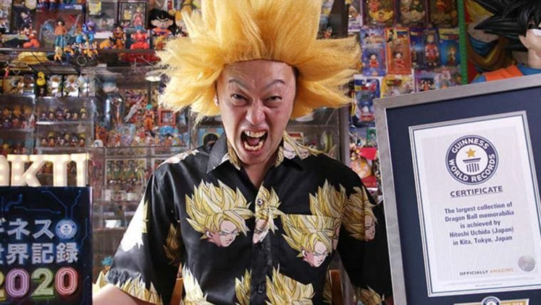 Homem deixa emprego para quebrar recorde de maior coleção de Dragon Ball do mundo