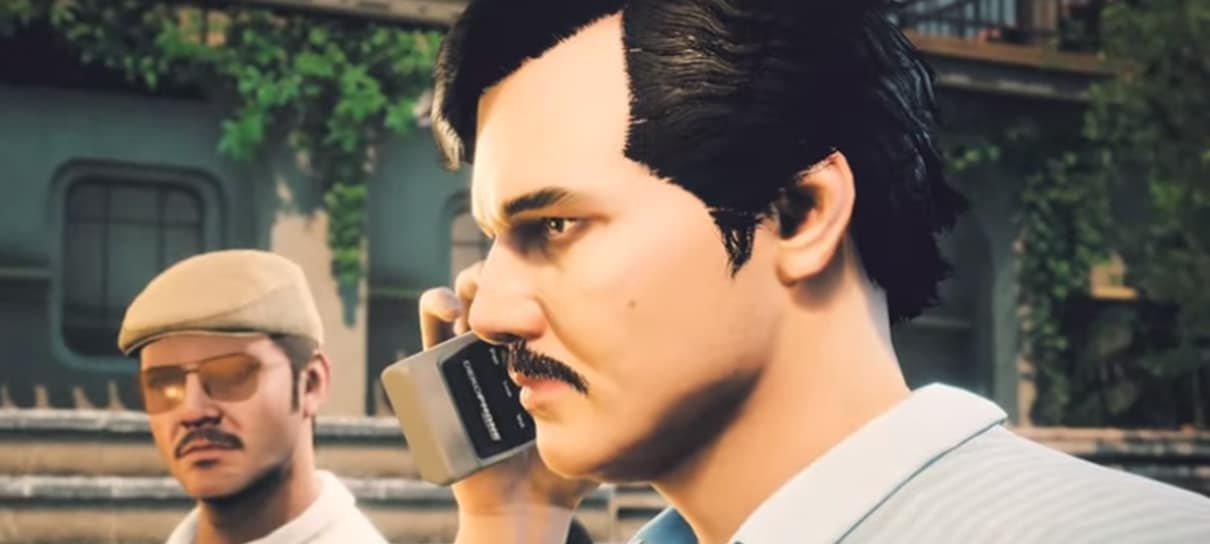 Jogo baseado na primeira temporada de Narcos é anunciado para PC e consoles
