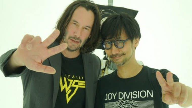 Kojima pretende convidar Keanu Reeves para algum de seus jogos no futuro