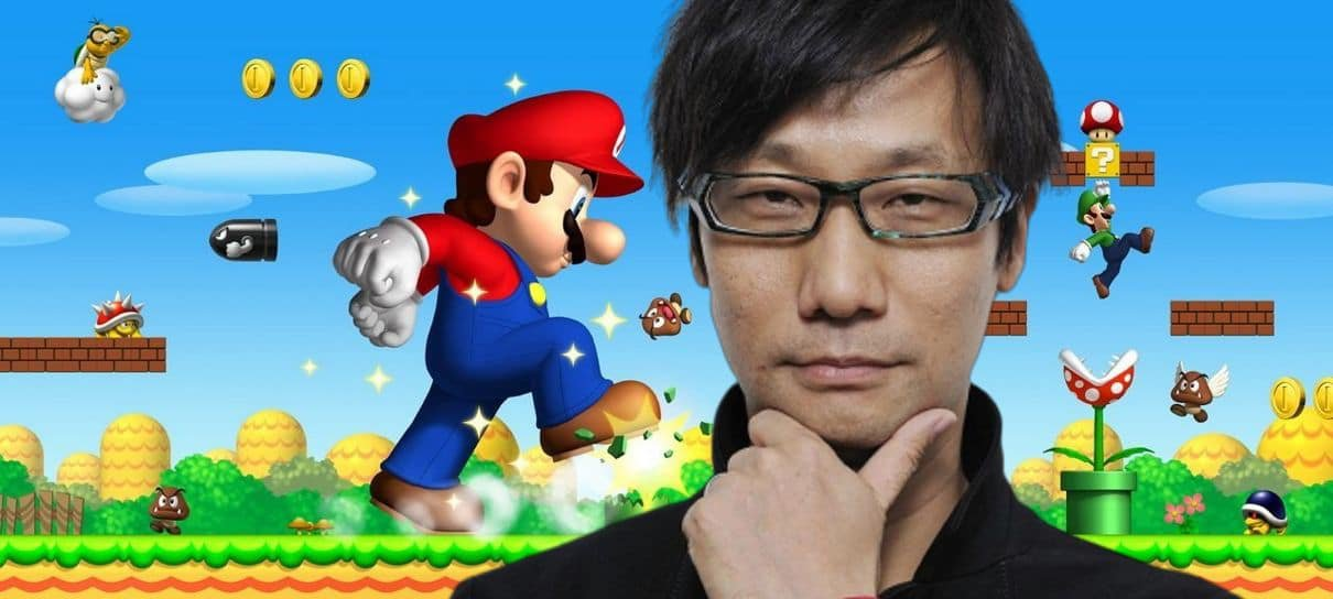 Hideo Kojima também é fã de Super Mario Bros.