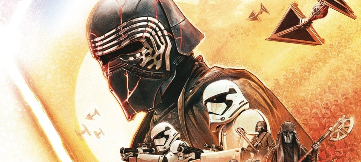 Kylo Ren e a Primeira Ordem são destaque do novo pôster de Star Wars: A Ascensão Skywalker
