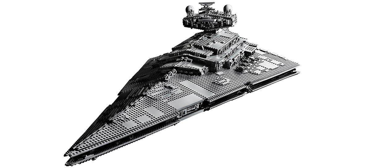 Star Wars   Star Destroyer de LEGO tem 4700 peças e mais de um metro de comprimento