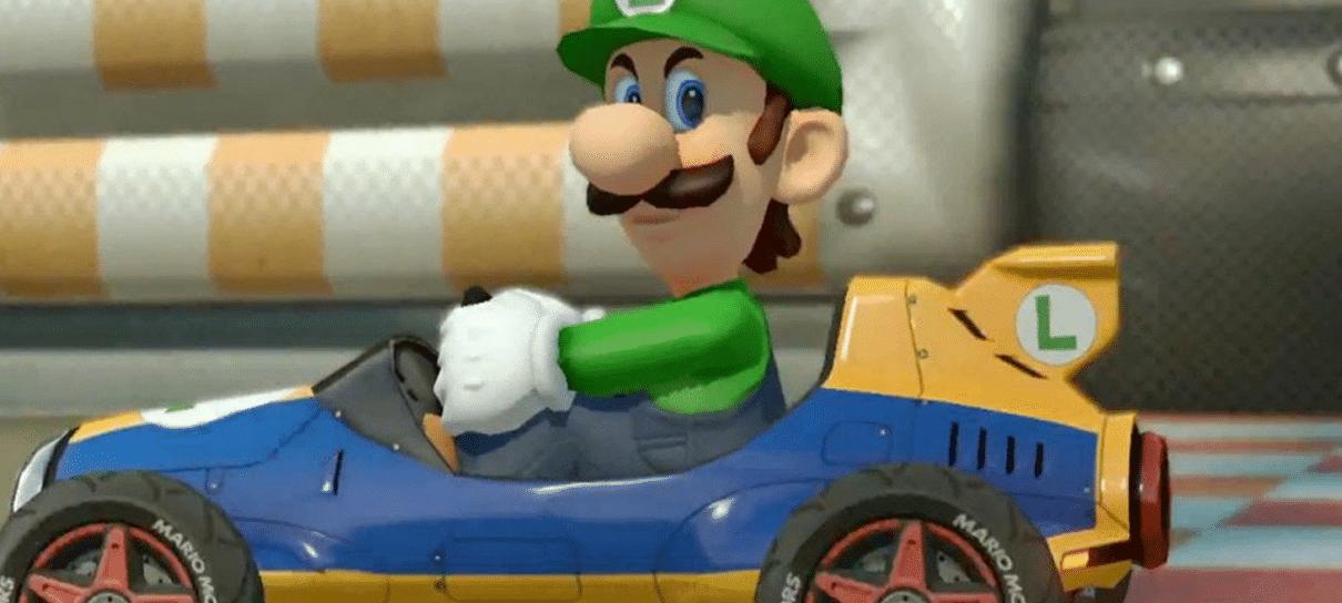 Luigi não está jogável em Mario Kart Tour