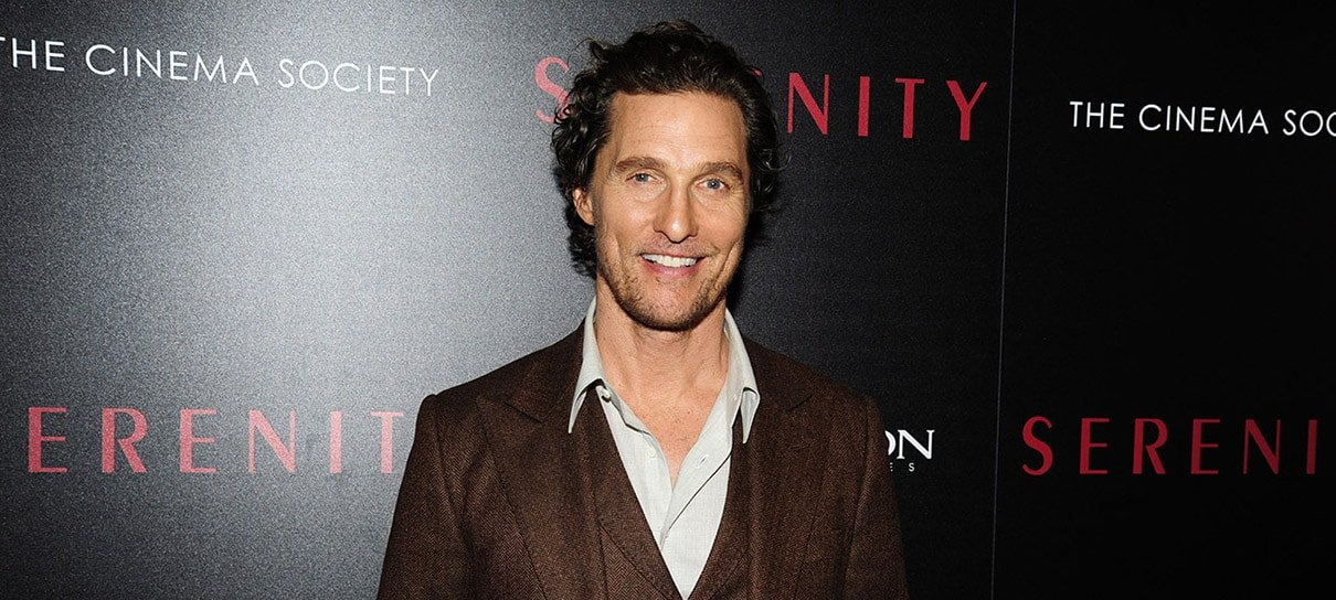 Matthew McConaughey será professor na Universidade do Texas