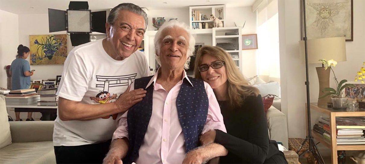 Mauricio de Sousa e Ziraldo se encontram para lançar segunda parceria