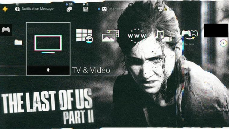 Naughty Dog oferece tema gratuito de The Last of Us Part II para PS4