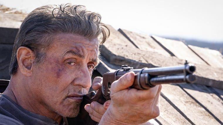 Stallone está com sede de vingança em trailer de Rambo: Até o Fim