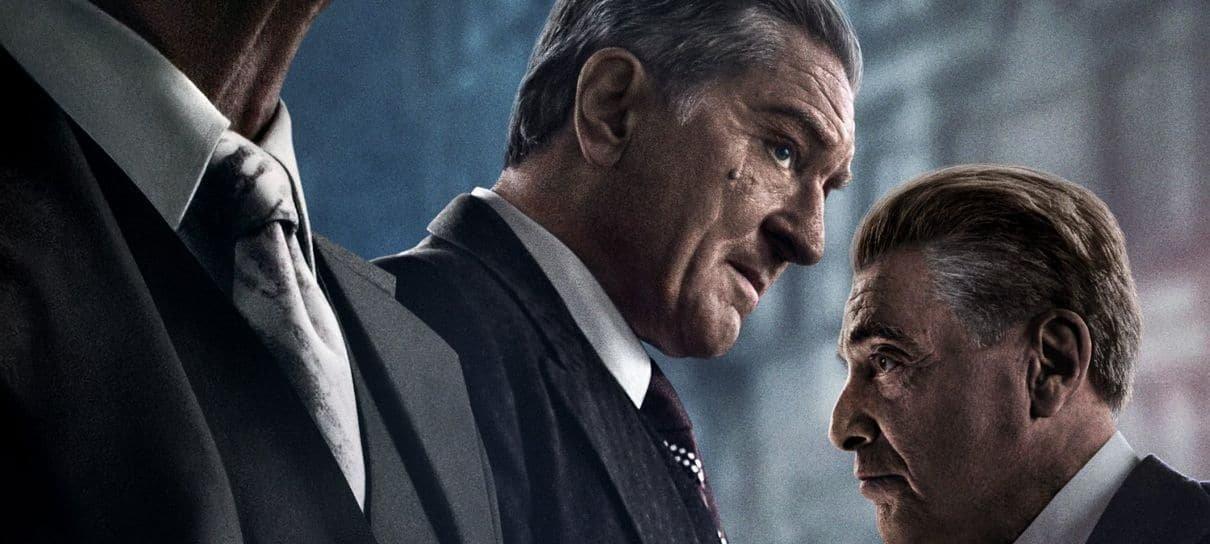 O Irlandês ganha novo pôster com Robert De Niro, Al Pacino e Joe Pesci