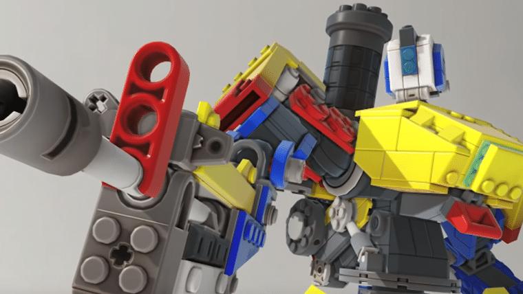 Overwatch | Evento traz skin lendária de Bastion feito de LEGO