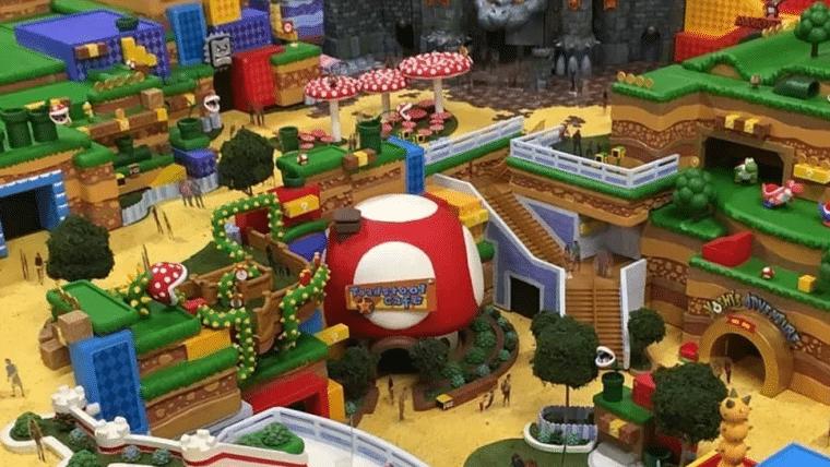 Parque da Nintendo terá duas atrações e interação com o Switch