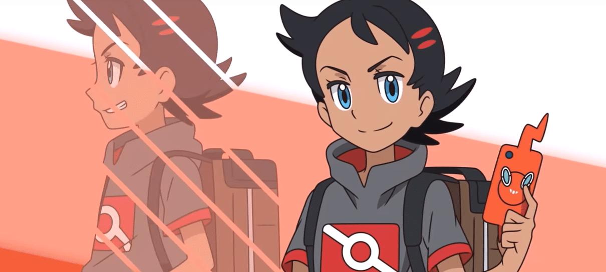 Anime de Pokémon terá um novo protagonista junto com Ash