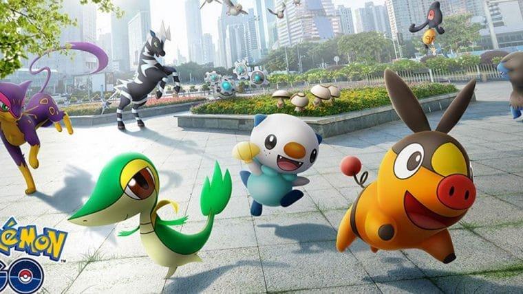 Pokémon Go | Criaturas da quinta geração estão chegando ao jogo