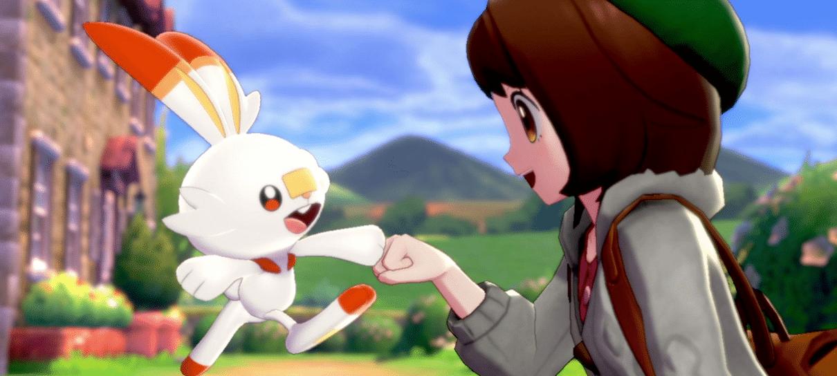 Pokémon Sword & Shield podem ter salvamento automático