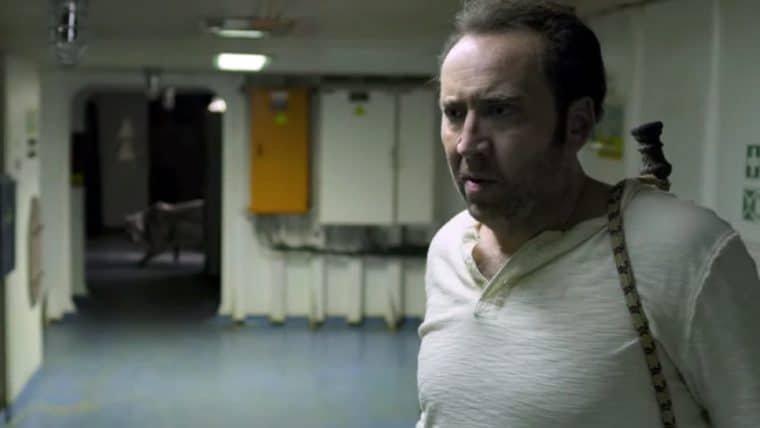 Nicolas Cage persegue um assassino e uma onça dentro de um navio em trailer de Primal