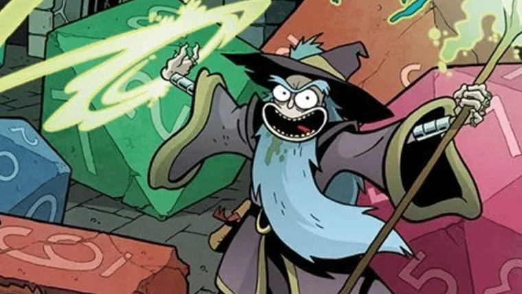 Crossover de Dungeons & Dragons e Rick and Morty vira campanha oficial