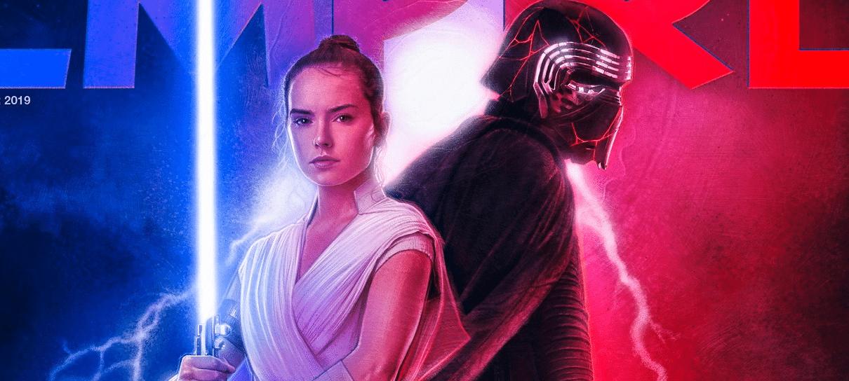 Star Wars: A Ascensão Skywalker | Novas fotos de Rey e Kylo Ren estampam capa de revista