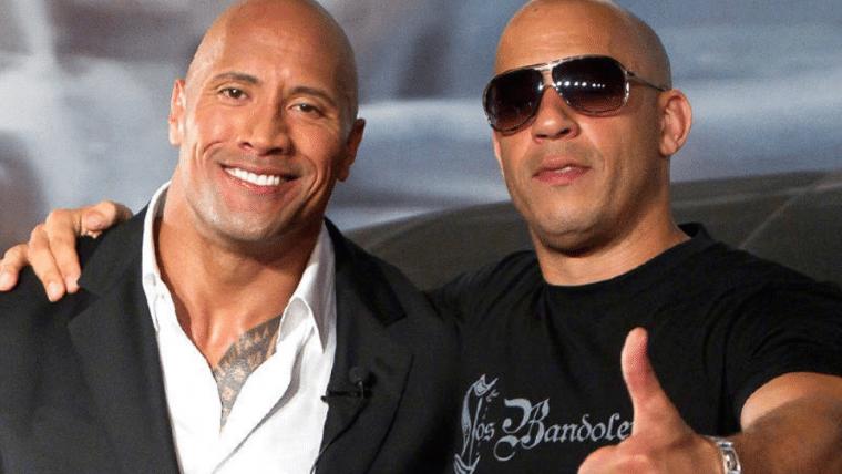 Hobbs & Shaw | The Rock publica vídeo agradecendo Vin Diesel e encerra treta antiga