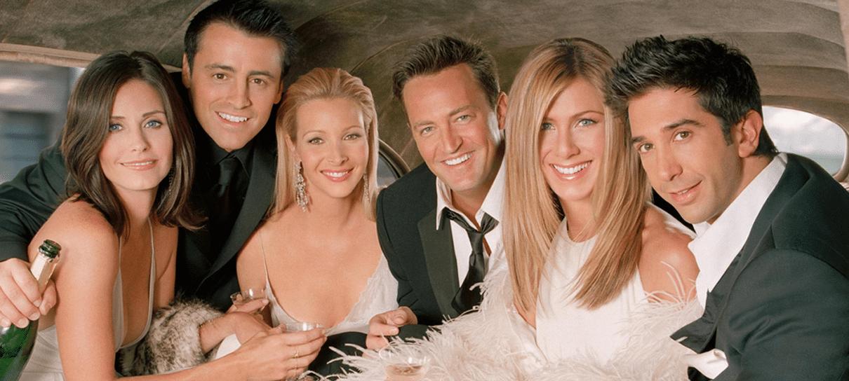 Warner Channel exibirá as 10 temporadas de Friends na semana que vem