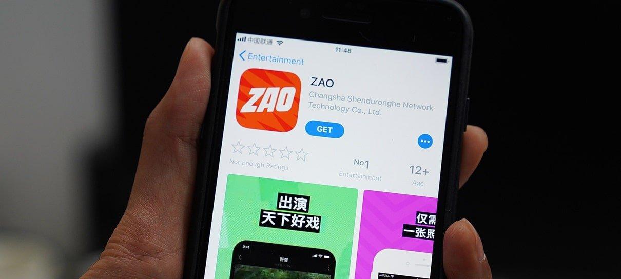 Zao, novo aplicativo de Deepfake, viraliza e gera preocupações sobre privacidade