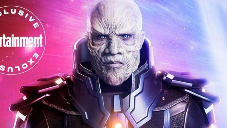 Antimonitor, o vilão do Crise nas Infinitas Terras, tem visual revelado