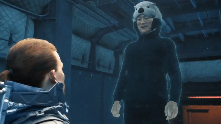 Death Stranding | Conan O'Brien dá roupa de lontra para Sam em participação especial