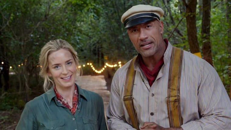 Jungle Cruise | Dwayne Johnson e Emily Blunt enfrentam perigos em trailer