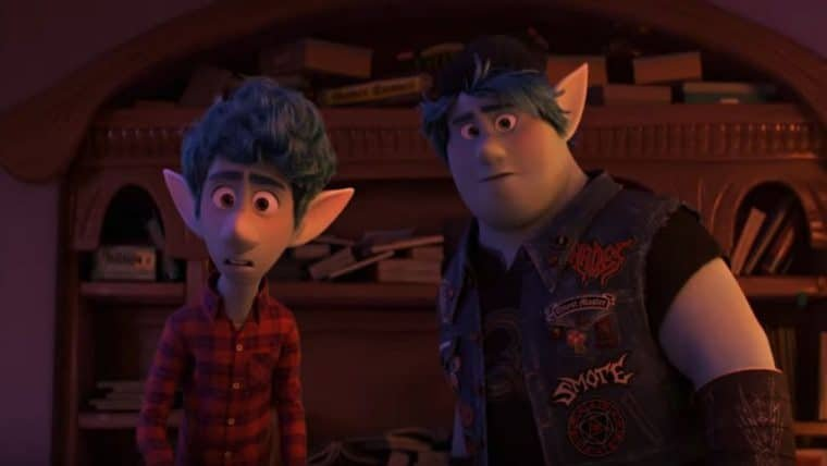Dois Irmãos: Uma Jornada Fantástica | Animação com Tom Holland ganha novo trailer