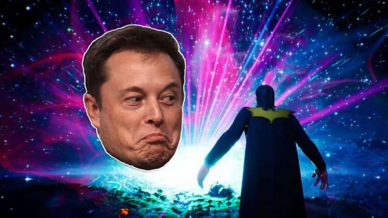 Elon Musk brinca que finalmente comprou e deletou Fortnite