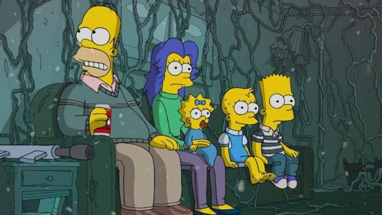 Episódio mais recente de Os Simpsons fez uma paródia de Stranger Things