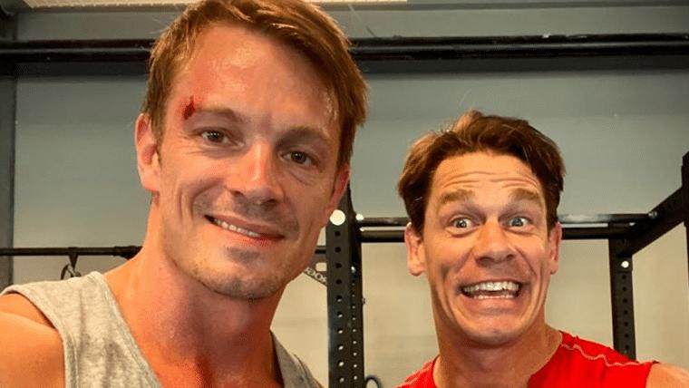 Esquadrão Suicida | Joel Kinnaman publica foto de bastidores com John Cena