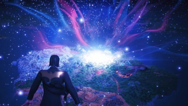Fortnite | Jogo é sugado por buraco negro para evento Fim do Mundo