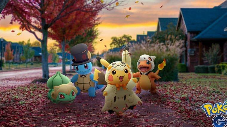 Pokémon Go | Evento de Halloween terá monstrinhos fantasiados