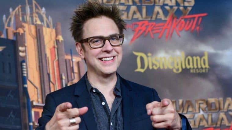 Warner deixou James Gunn dirigir o filme que quisesse