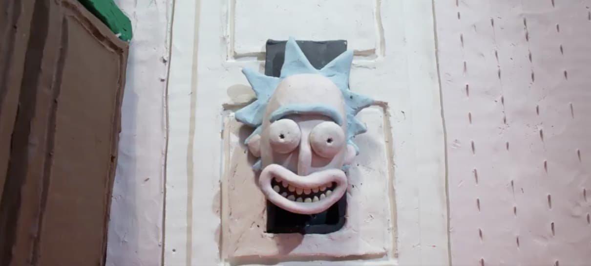 Rick and Morty faz homenagens a filmes clássicos em vídeos
