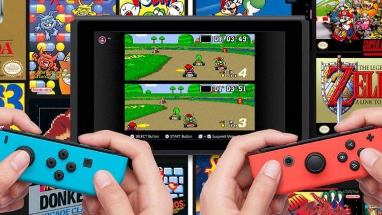 Nintendo pretende oferecer serviços variados no Switch Online