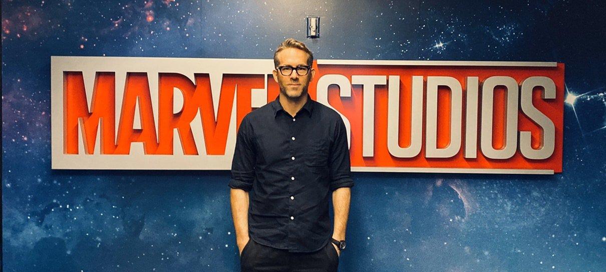 Ryan Reynolds revela que fez reunião com a Marvel Studios