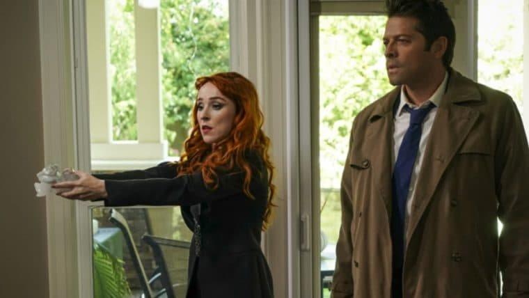 Supernatural | Novas imagens da última temporada mostram Rowena e Kevin