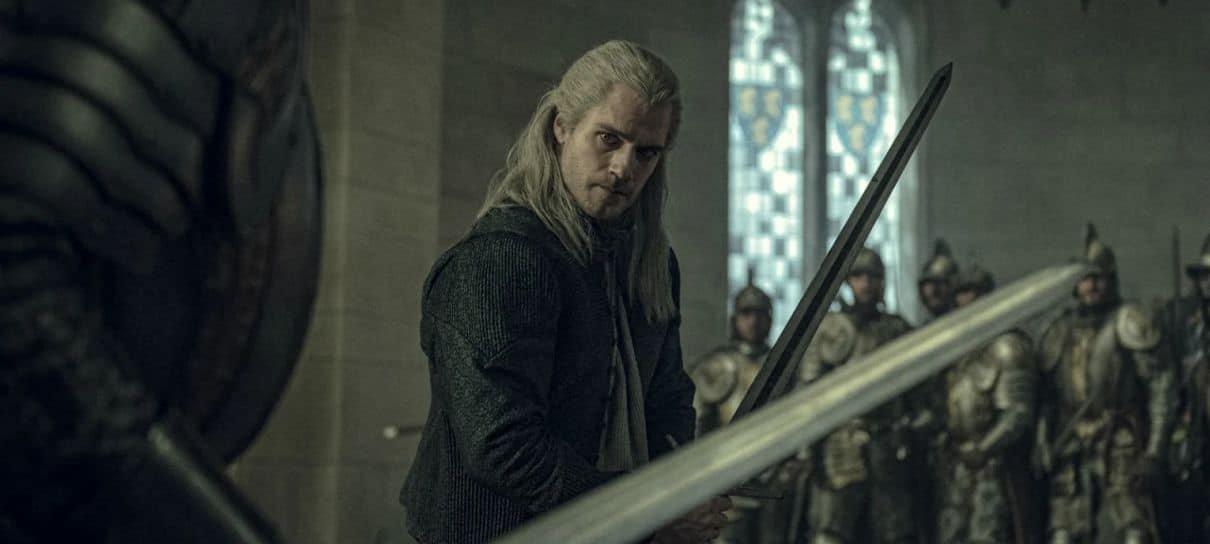 The Witcher   Geralt está pronto para lutar em fotos da série da Netflix