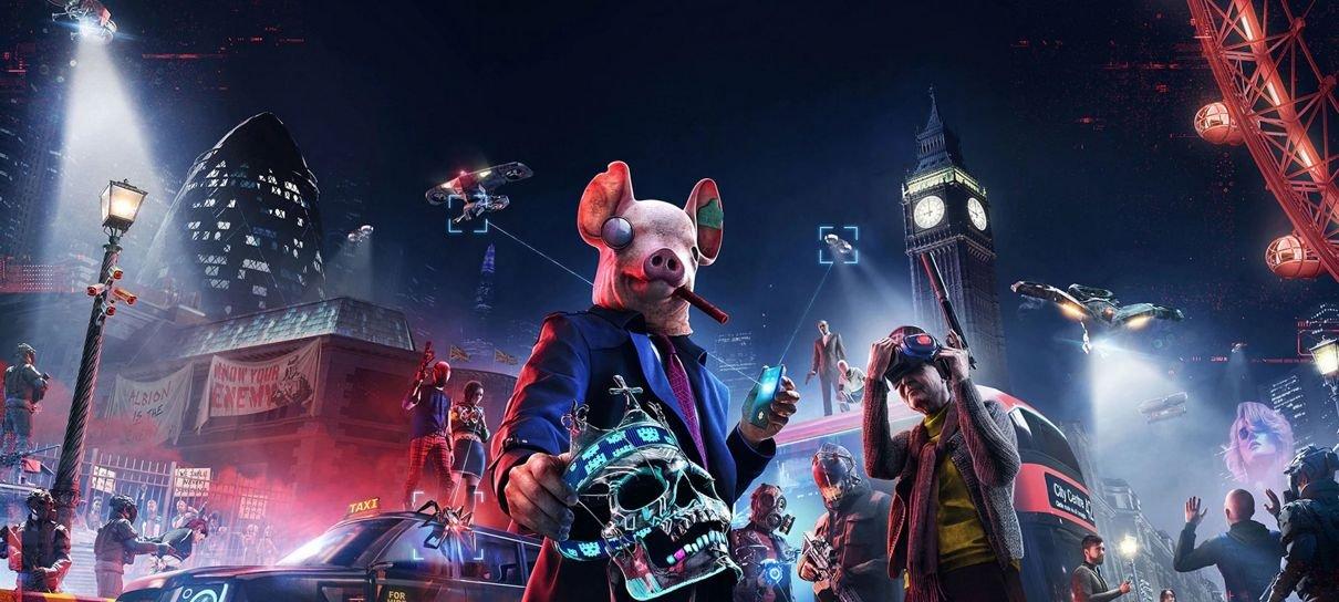 Ubisoft adia lançamento de Watch Dogs Legion, Rainbow Six Quarantine e Gods & Monsters