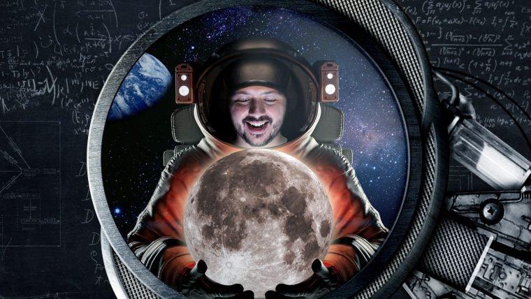 Construindo bases lunares