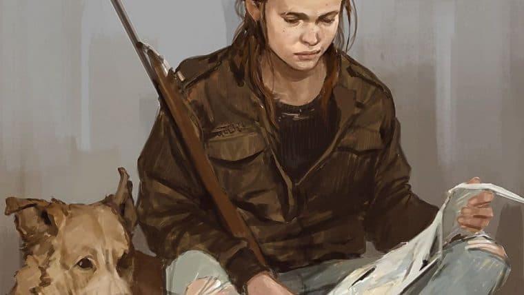 The Last of Us Part II | Ellie aparece com um cachorro em novas artes conceituais