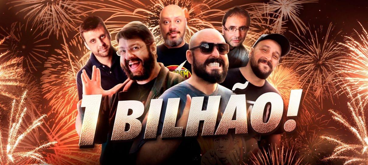 UM BILHÃO DE DOWNLOADS